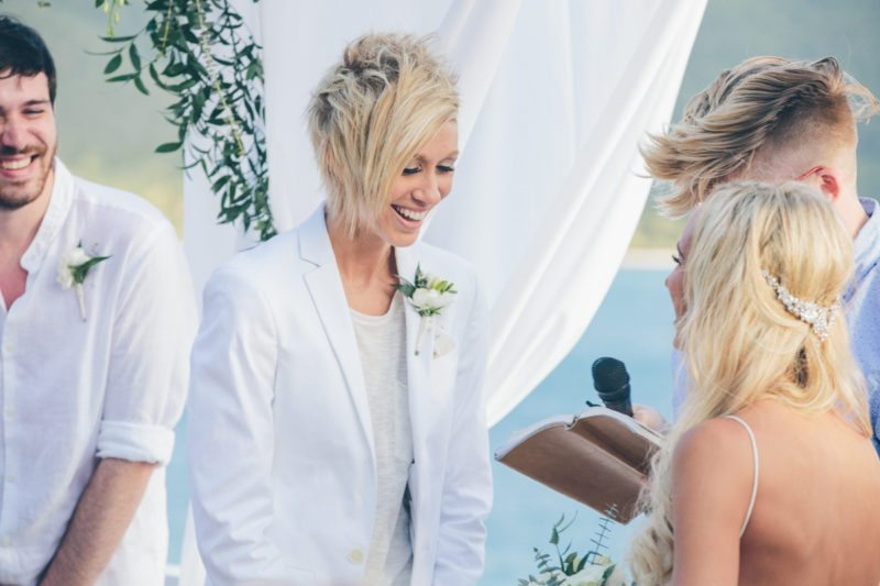 CASSIE AND KAYLA VIRGIN ISLANDS LESBIAN WEDDING