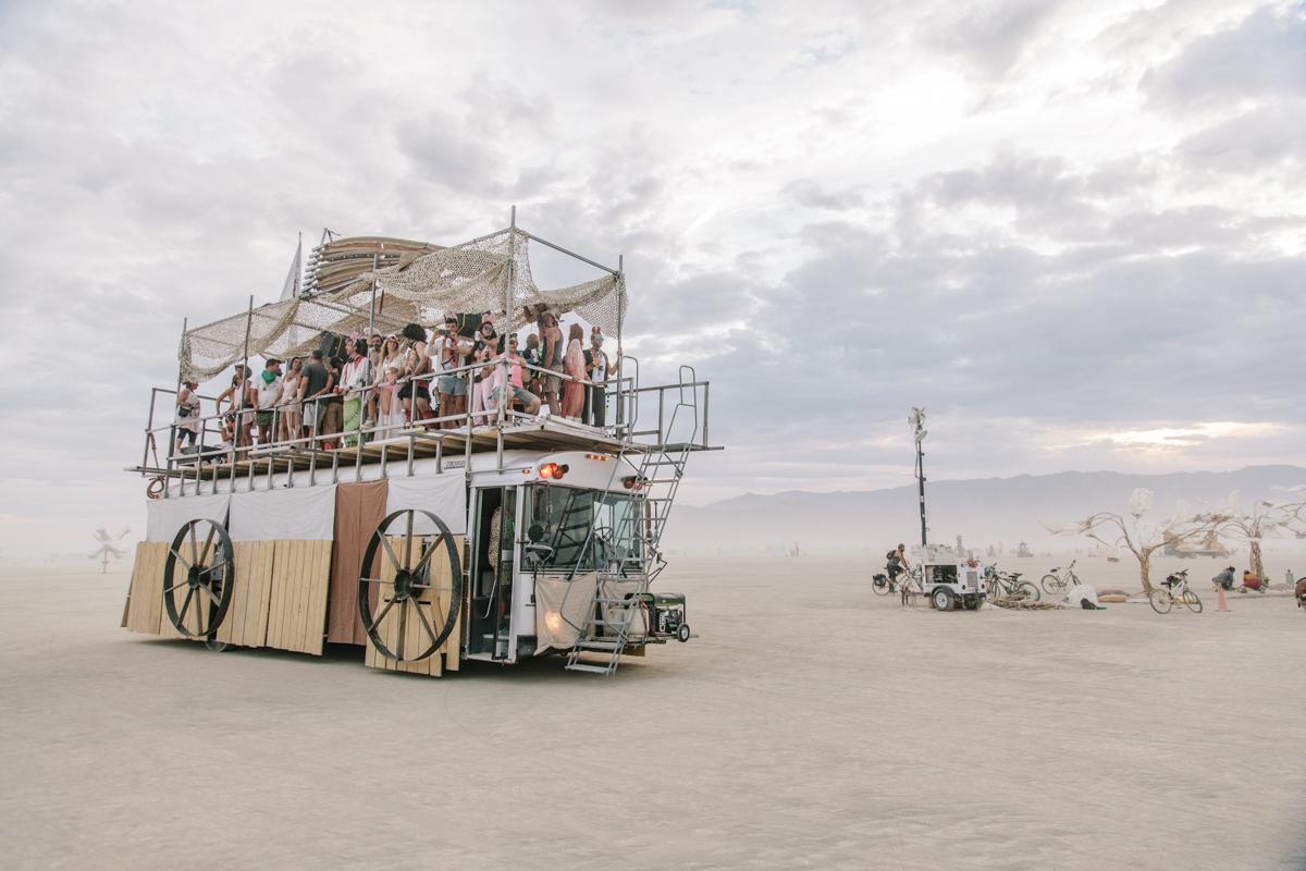 Kat Cole Burning Man Wedding Steph Grant