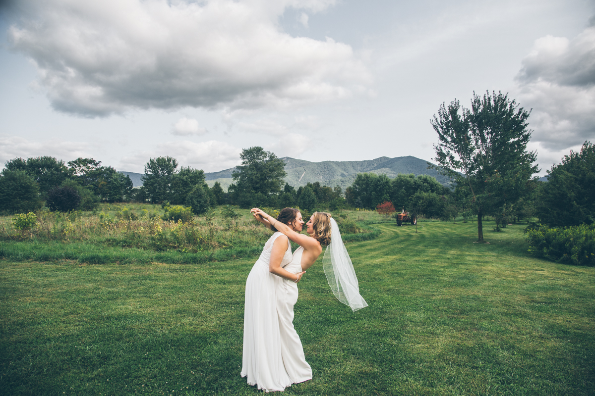 Khimaira Farms Virginia Lesbian Wedding Steph Grant