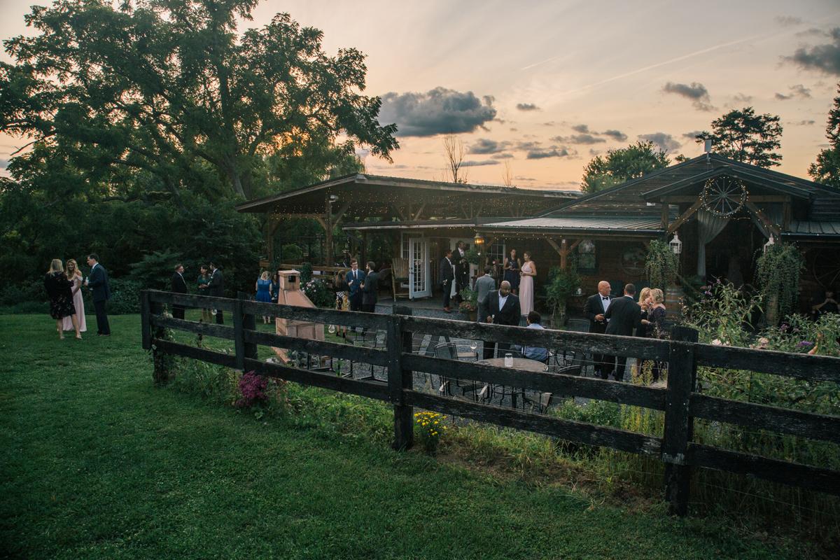 Khimaira Farms Virginia Lesbian Wedding Steph Grant